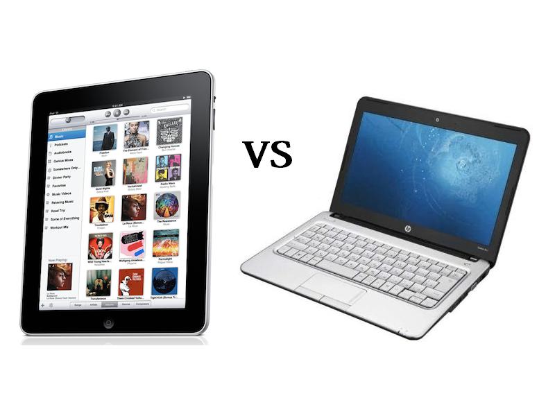 Что выбрать: планшет или ноутбук?